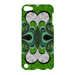 Fractal Art Green Pattern Design Apple Ipod Touch 5 Hardshell Case