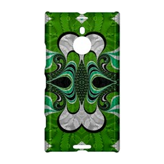 Fractal Art Green Pattern Design Nokia Lumia 1520
