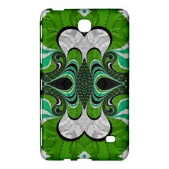 Fractal Art Green Pattern Design Samsung Galaxy Tab 4 (7 ) Hardshell Case