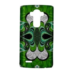 Fractal Art Green Pattern Design LG G4 Hardshell Case