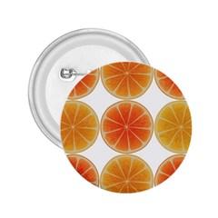 Orange Discs Orange Slices Fruit 2.25  Buttons