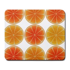 Orange Discs Orange Slices Fruit Large Mousepads