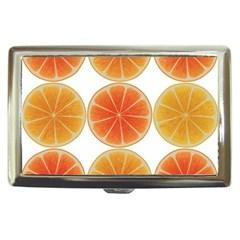 Orange Discs Orange Slices Fruit Cigarette Money Cases