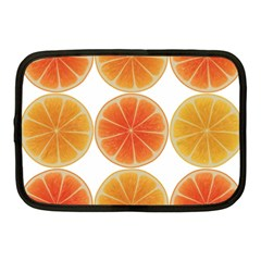 Orange Discs Orange Slices Fruit Netbook Case (Medium)