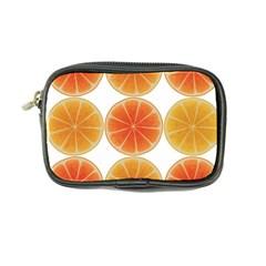 Orange Discs Orange Slices Fruit Coin Purse