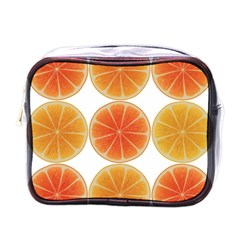 Orange Discs Orange Slices Fruit Mini Toiletries Bags