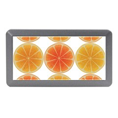Orange Discs Orange Slices Fruit Memory Card Reader (mini)