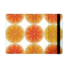 Orange Discs Orange Slices Fruit Apple Ipad Mini Flip Case