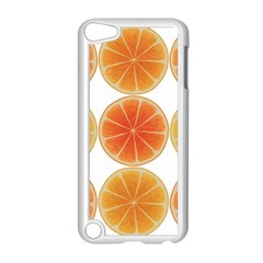 Orange Discs Orange Slices Fruit Apple iPod Touch 5 Case (White)