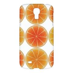 Orange Discs Orange Slices Fruit Samsung Galaxy S4 I9500/i9505 Hardshell Case