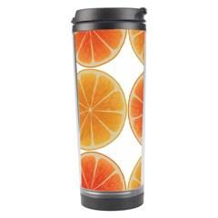 Orange Discs Orange Slices Fruit Travel Tumbler