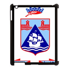 Haifa Coat of Arms  Apple iPad 3/4 Case (Black)
