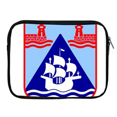Haifa Coat Of Arms  Apple Ipad 2/3/4 Zipper Cases