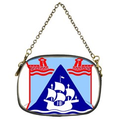 Haifa Coat Of Arms  Chain Purses (one Side)