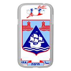 Haifa Coat of Arms  Samsung Galaxy Grand DUOS I9082 Case (White)