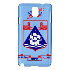 Flag of Haifa Samsung Galaxy Note 3 N9005 Hardshell Case
