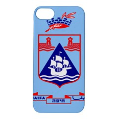 Flag of Haifa Apple iPhone 5S/ SE Hardshell Case