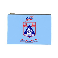 Flag of Haifa Cosmetic Bag (Large)