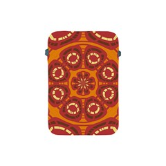 Dark Red Abstract Apple iPad Mini Protective Soft Cases