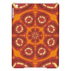 Dark Red Abstract iPad Air Hardshell Cases