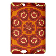 Dark Red Abstract Amazon Kindle Fire HD (2013) Hardshell Case