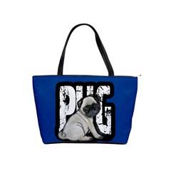 Pug Shoulder Handbags