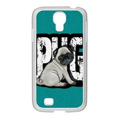 Pug Samsung GALAXY S4 I9500/ I9505 Case (White)
