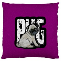 Pug Standard Flano Cushion Case (Two Sides)
