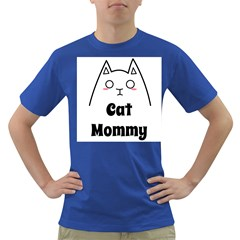 Love My Cat Mommy Dark T Shirt