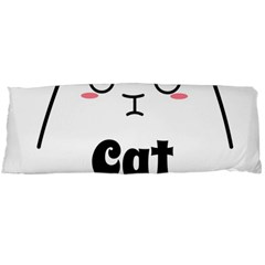 Love My Cat Mommy Body Pillow Case Dakimakura (two Sides)