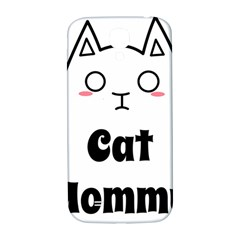 Love My Cat Mommy Samsung Galaxy S4 I9500/I9505  Hardshell Back Case