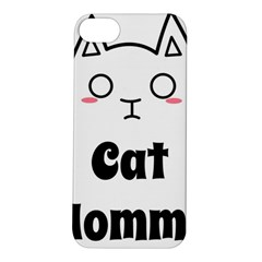 Love My Cat Mommy Apple iPhone 5S/ SE Hardshell Case