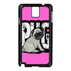 Pug Samsung Galaxy Note 3 N9005 Case (Black)