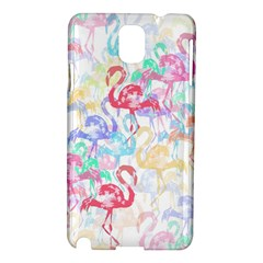 Flamingo pattern Samsung Galaxy Note 3 N9005 Hardshell Case