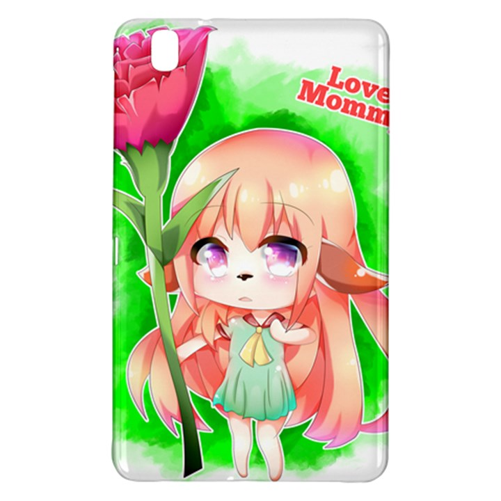 Happy Mother s Day Furry Girl Samsung Galaxy Tab Pro 8.4 Hardshell Case