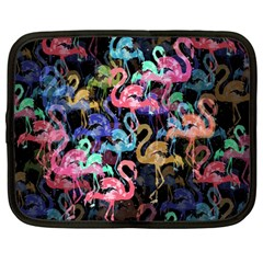 Flamingo Pattern Netbook Case (large)
