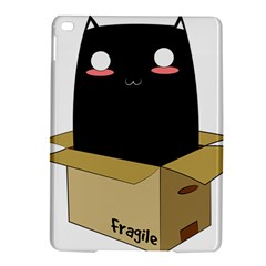 Black Cat in a Box iPad Air 2 Hardshell Cases