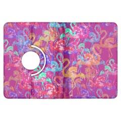 Flamingo pattern Kindle Fire HDX Flip 360 Case