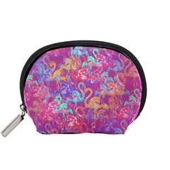 Flamingo pattern Accessory Pouches (Small)