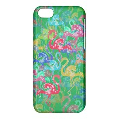 Flamingo pattern Apple iPhone 5C Hardshell Case