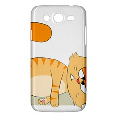 Even Cat Hates Monday Samsung Galaxy Mega 5.8 I9152 Hardshell Case