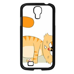 Even Cat Hates Monday Samsung Galaxy S4 I9500/ I9505 Case (black)