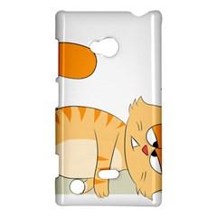 Even Cat Hates Monday Nokia Lumia 720
