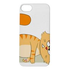 Even Cat Hates Monday Apple iPhone 5S/ SE Hardshell Case