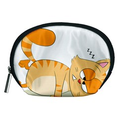 Even Cat Hates Monday Accessory Pouches (Medium)