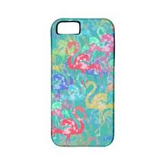 Flamingo pattern Apple iPhone 5 Classic Hardshell Case (PC+Silicone)