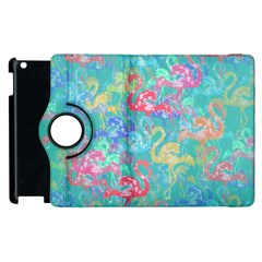 Flamingo pattern Apple iPad 3/4 Flip 360 Case