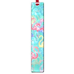 Flamingo pattern Large Book Marks
