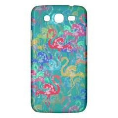 Flamingo pattern Samsung Galaxy Mega 5.8 I9152 Hardshell Case