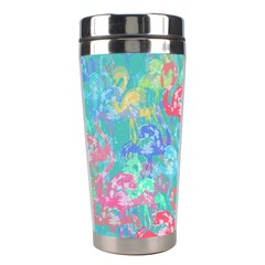 Flamingo pattern Stainless Steel Travel Tumblers